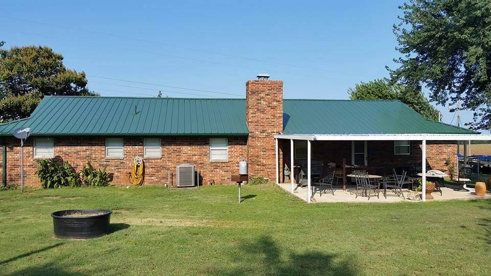 Residential Metal Roof Ag Panel R Panel Standing Seam